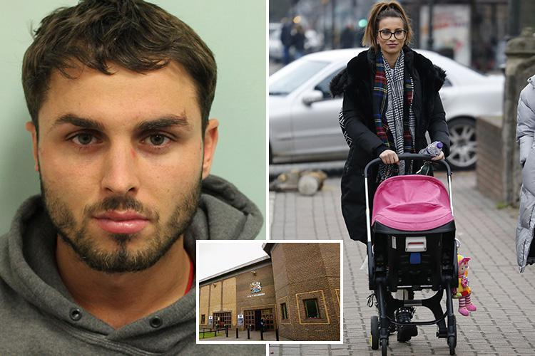 Ferne McCann's baby HAS been taken to see evil Arthur Collins in prison after she claimed 'he won't see either of us again'