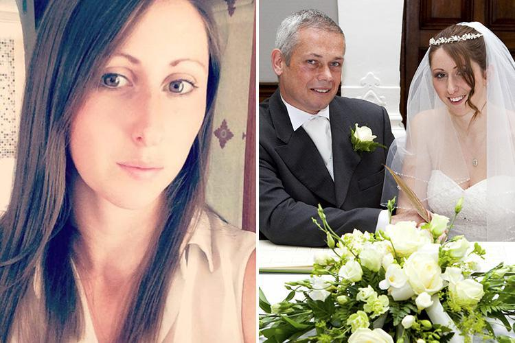 Mum-of-two found dead at home she shared with tree surgeon husband, 45, as cops arrest him for murder after he's hit by a train