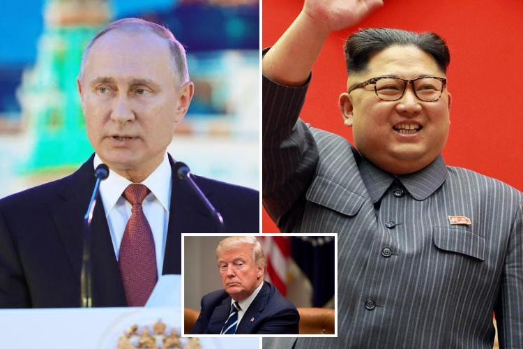 Vladimir Putin says 'shrewd and mature Kim' has 'won this round' with Donald Trump in row over nuke tests