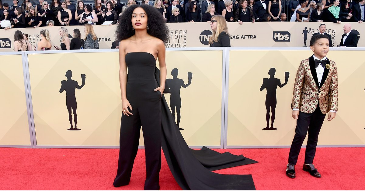Who Won the SAG Awards Red Carpet?