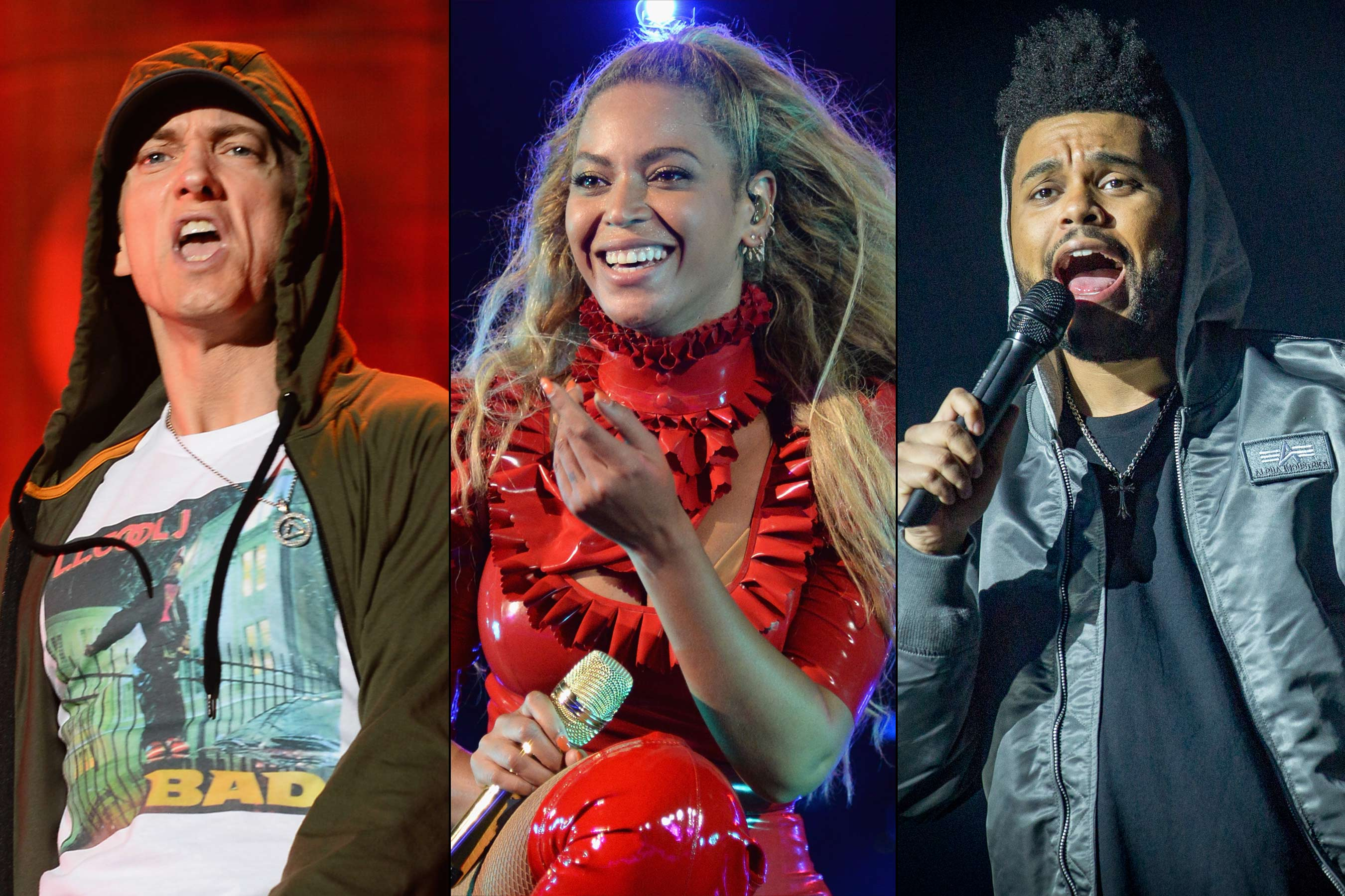 Coachella 2018: The Weeknd and Eminem join Beyoncé as headliners