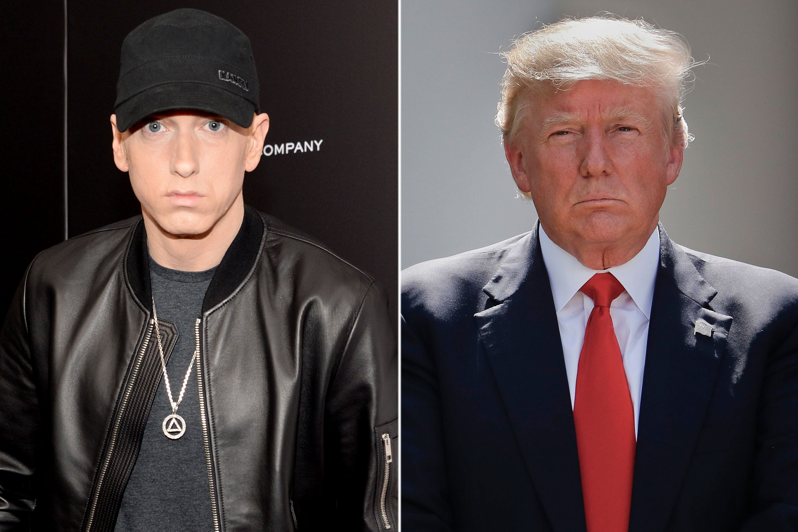 Eminem on Trump: A f—ing turd would have been better as a president