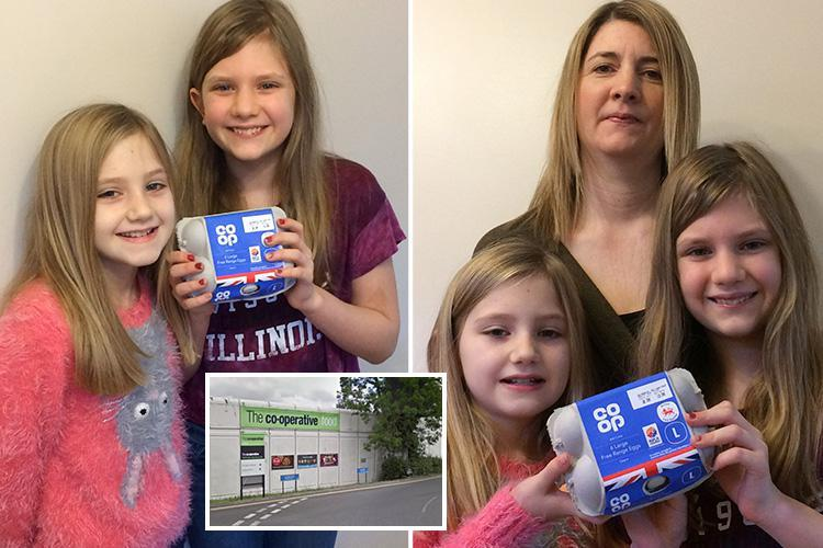 Co-op refuse to sell schoolgirls EGGS after 'fearing they might be egg bombers'
