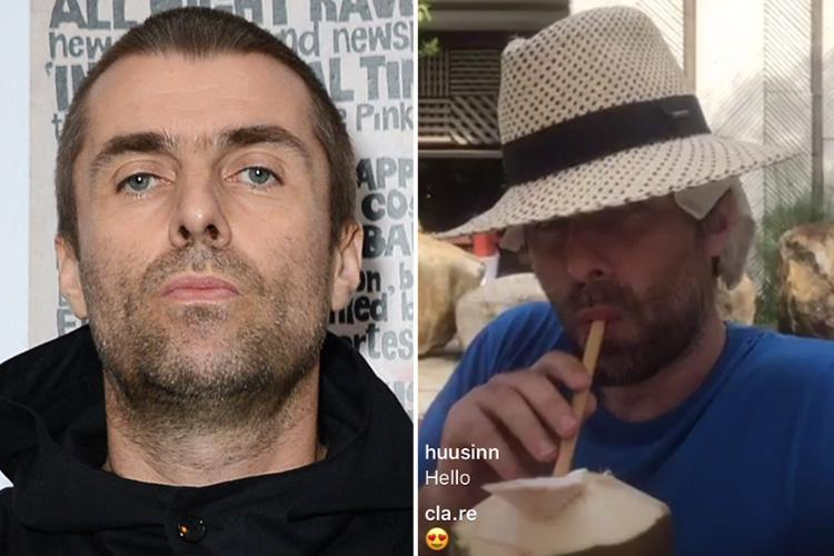 Liam Gallagher jokes he spent the past 12 days 'off his f***ing coconut' after admitting he still does drugs at 45