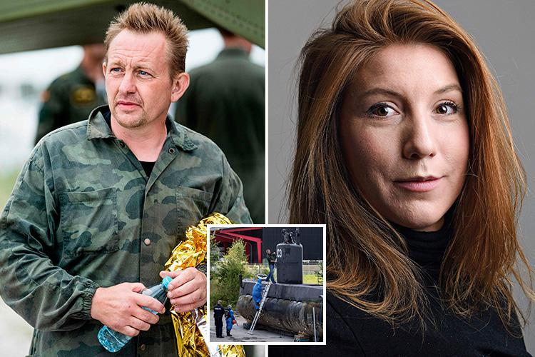 Danish inventor Peter Madsen charged with murdering Swedish journalist Kim Wall and chopping up her body on his submarine