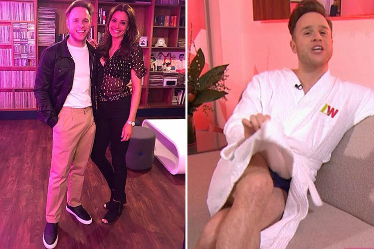 Olly Murs speaks about his romance with Melanie Sykes for the first time on Loose Women