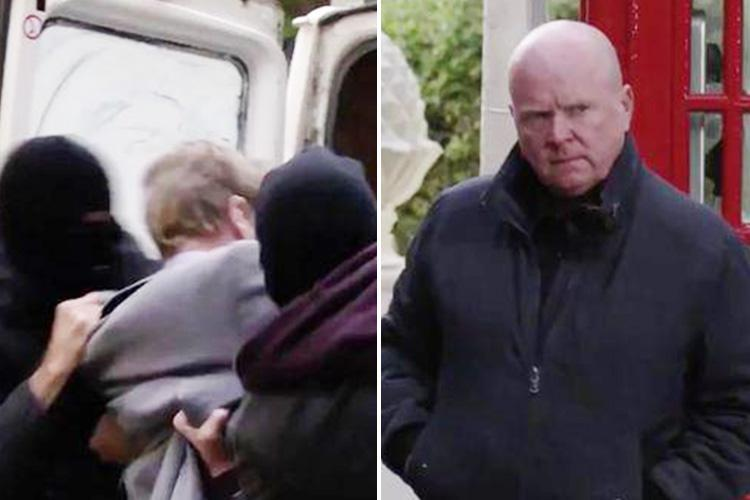 EastEnders' Luke Browning is still missing weeks after he was bundled into a van