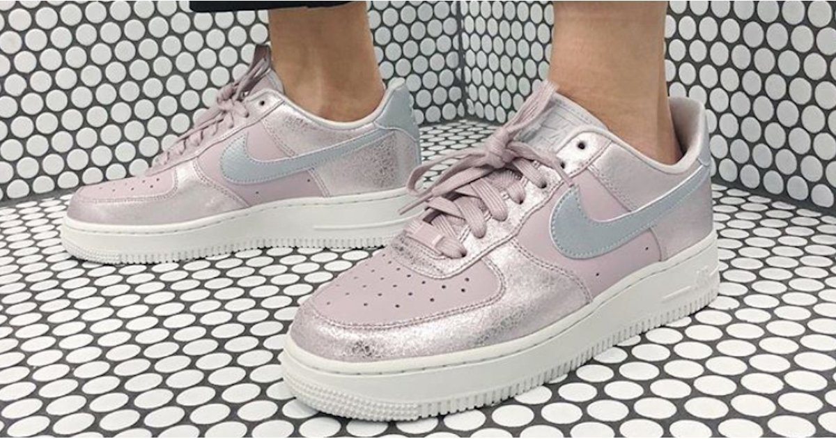 Sweet God, These New Nike Sneakers Are Iridescent AND Pink
