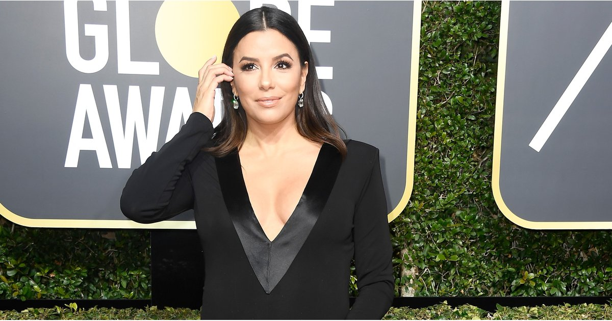 Plunging Necklines at the Golden Globes Prove That Solidarity Can Still Be Sexy