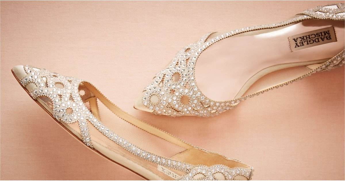 15 Chic and Comfortable Flats That Are Perfect For Your Wedding