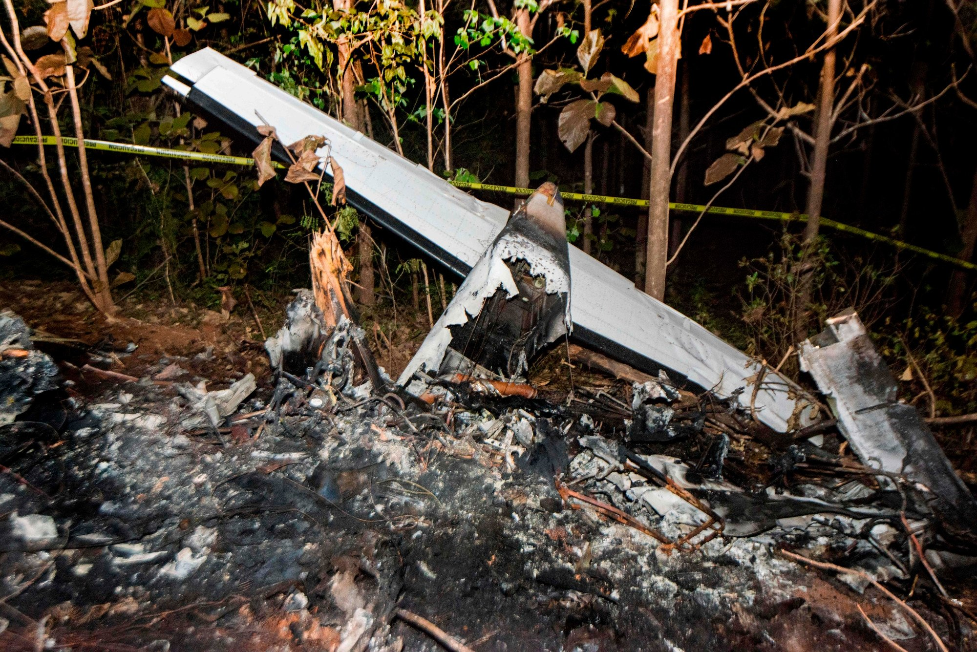 Plane was barely airborne before fiery crash that killed 12