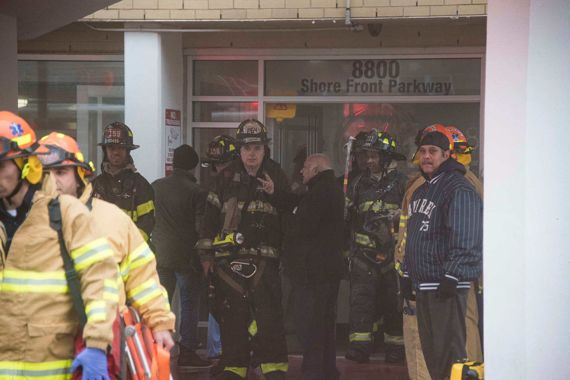 17 injured in Queens high-rise fire