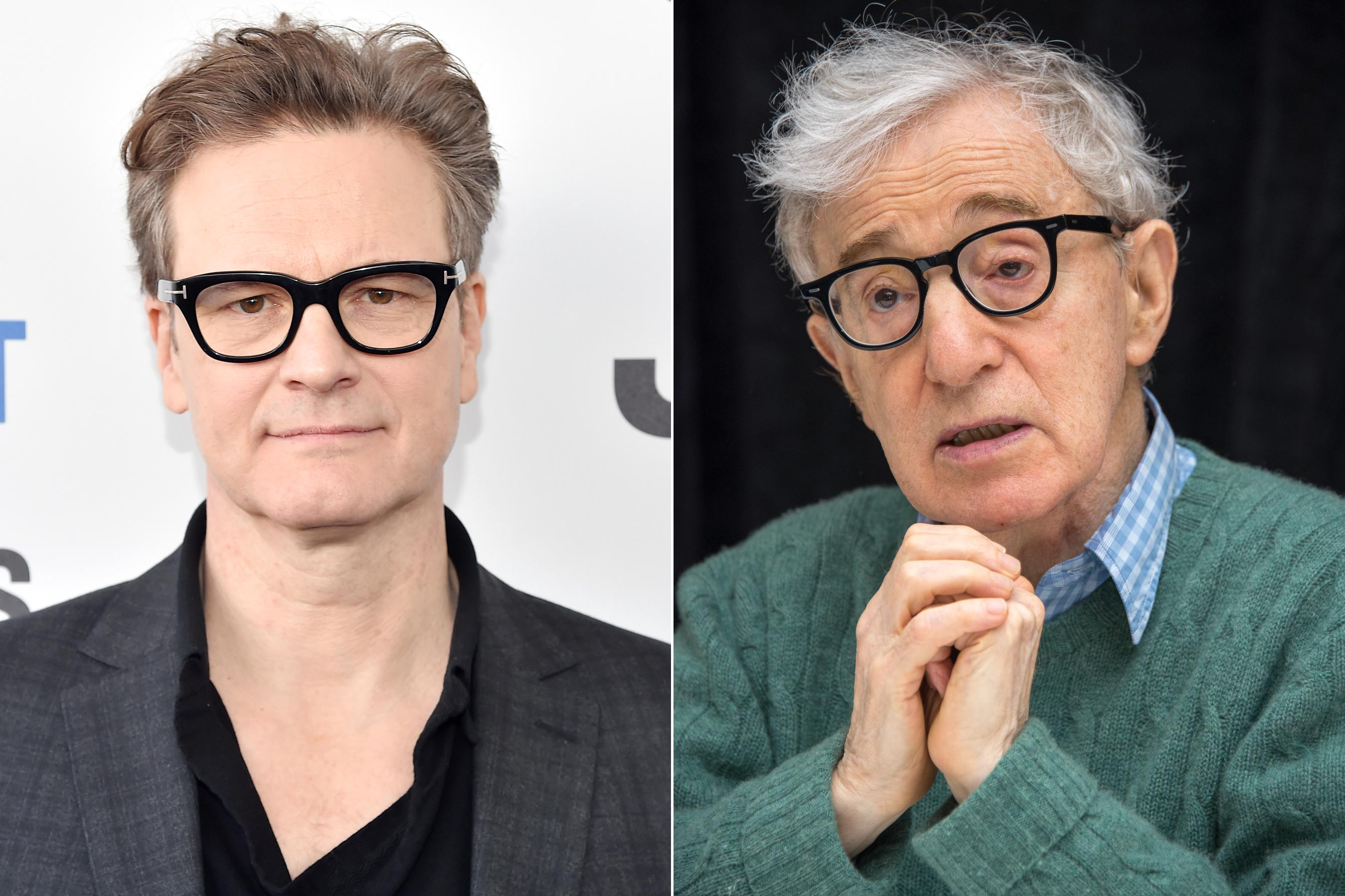 Colin Firth says he will not work with director Woody Allen again