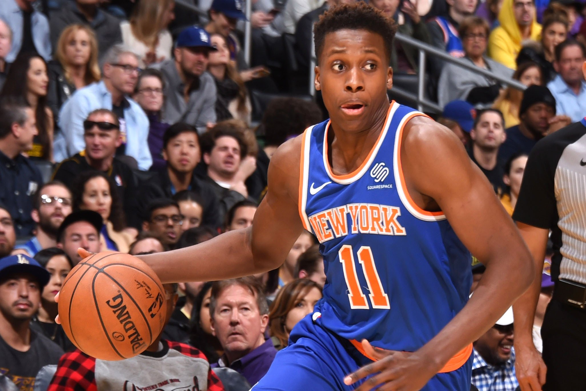 """Frank Ntilikina wasn't sure he would get this """"blessing'"""