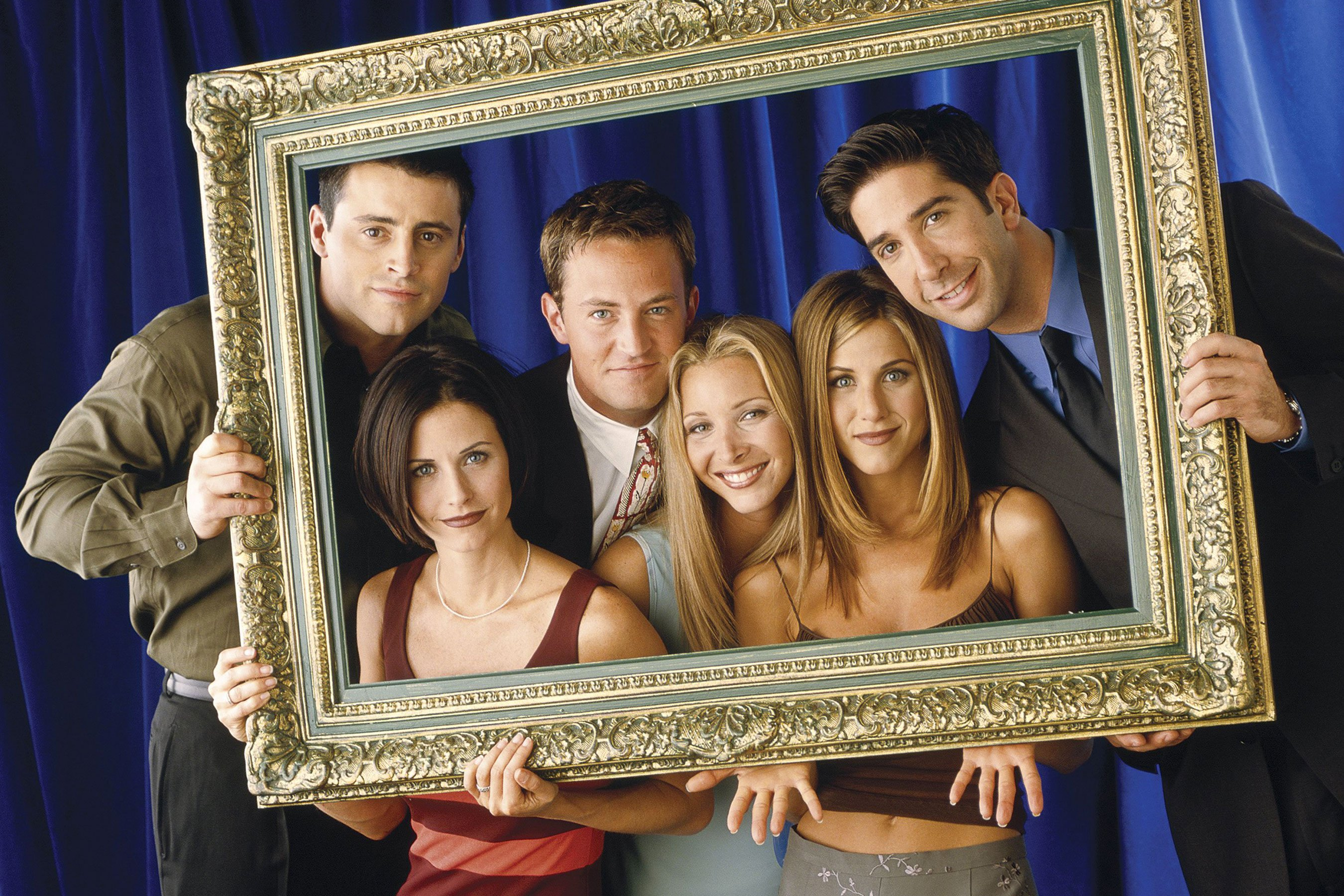 Friends: See photos of the cast before they made it