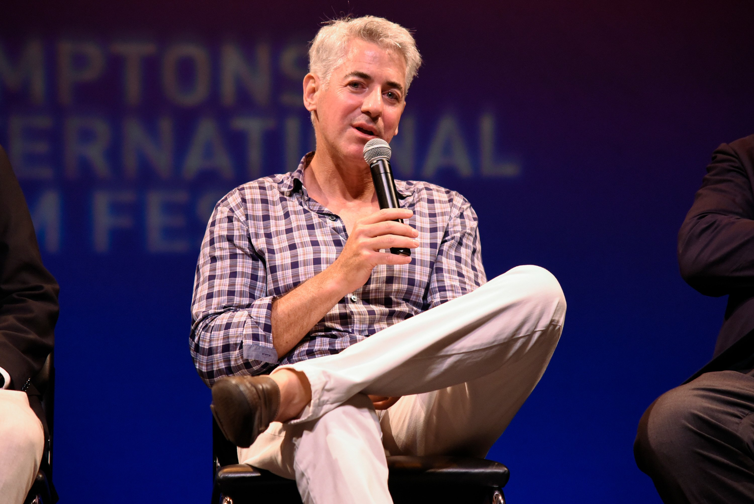 Ackman's Pershing Square fund to slash management fee