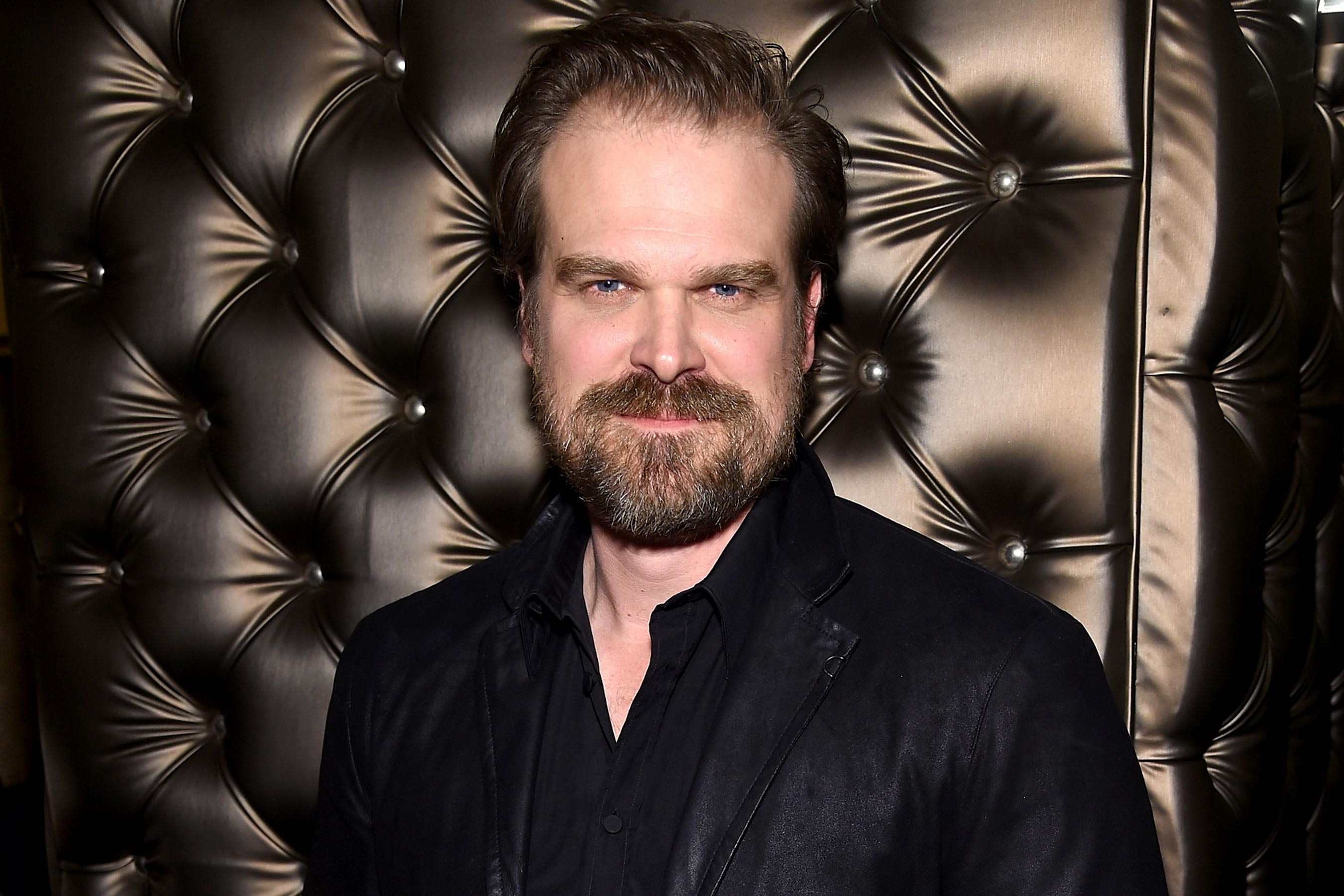 David Harbour: Hellboy star will officiate wedding for retweets