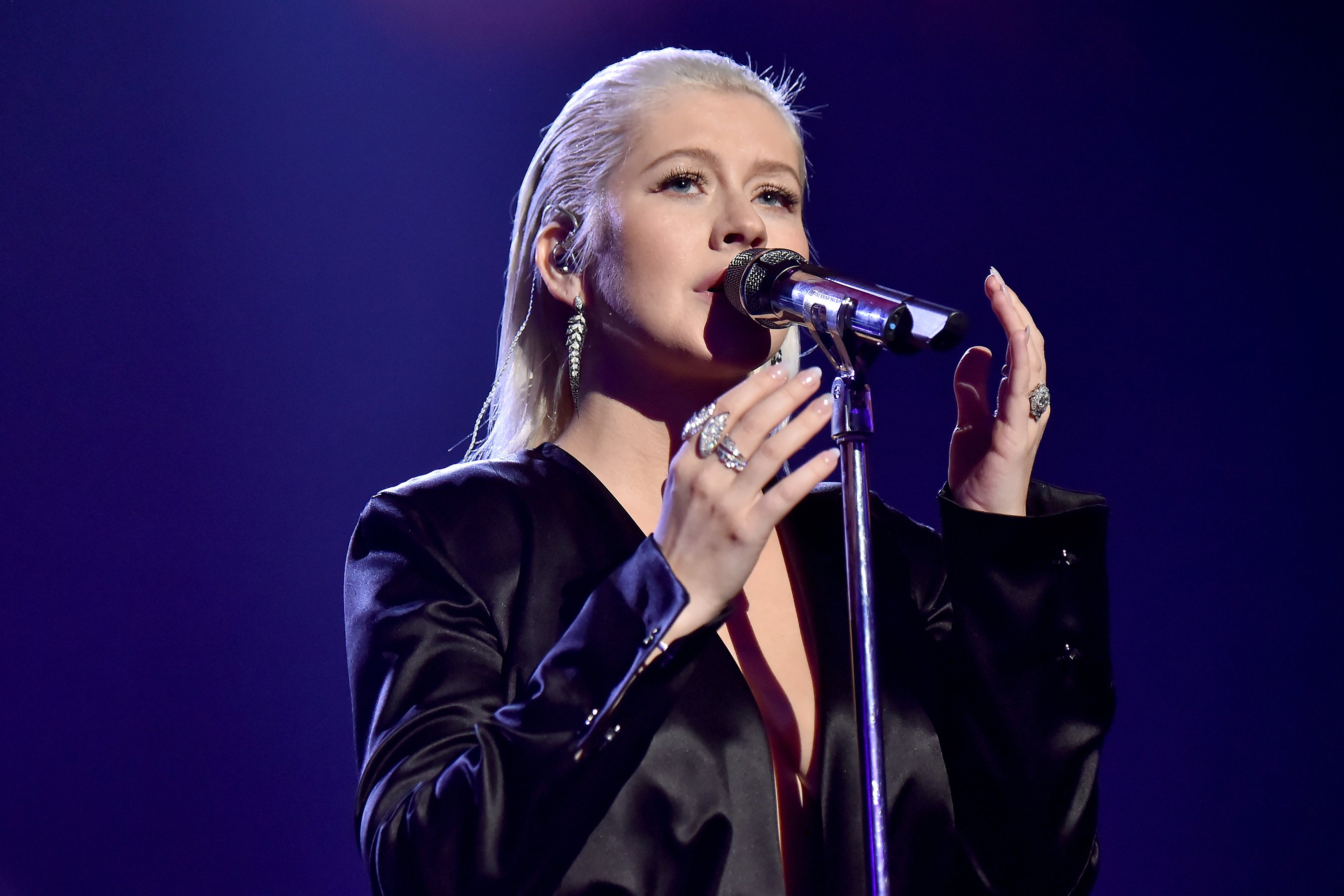 Christina Aguilera promises new album after 5 years:'It's coming'