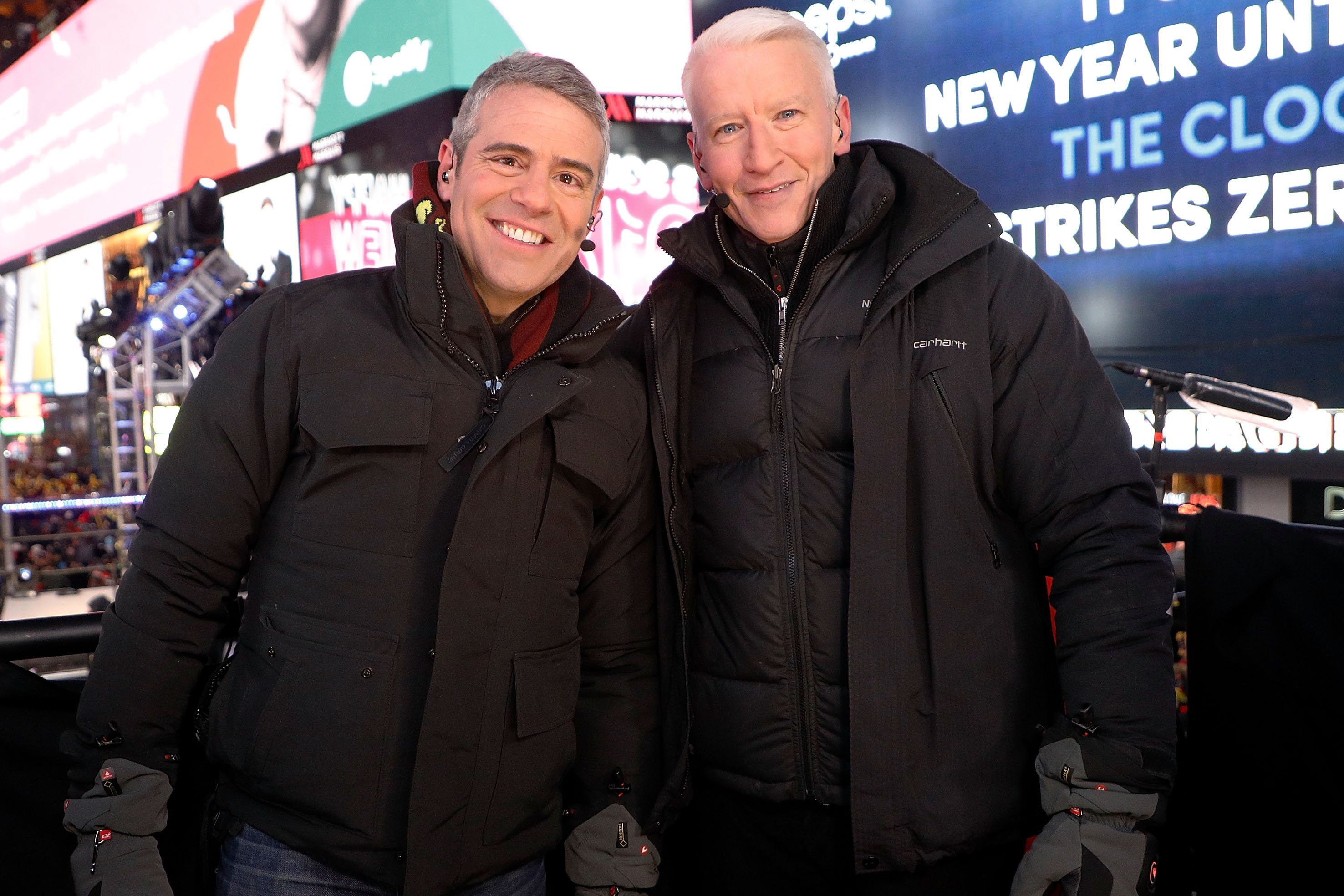 Anderson Cooper spent almost $3K to stay warm on New Year's Eve