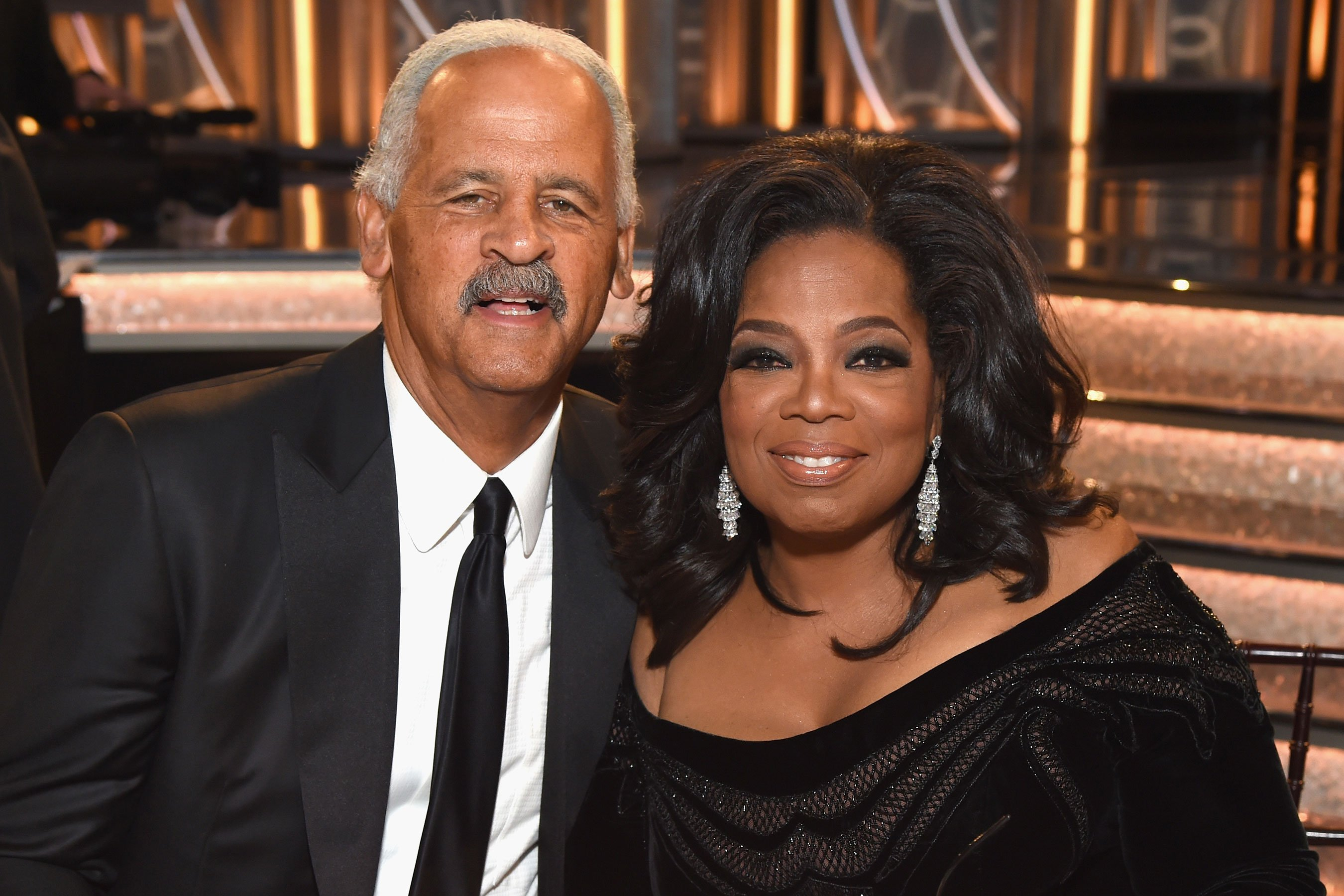 Oprah Winfrey's partner Stedman Graham says she would 'absolutely' run for president