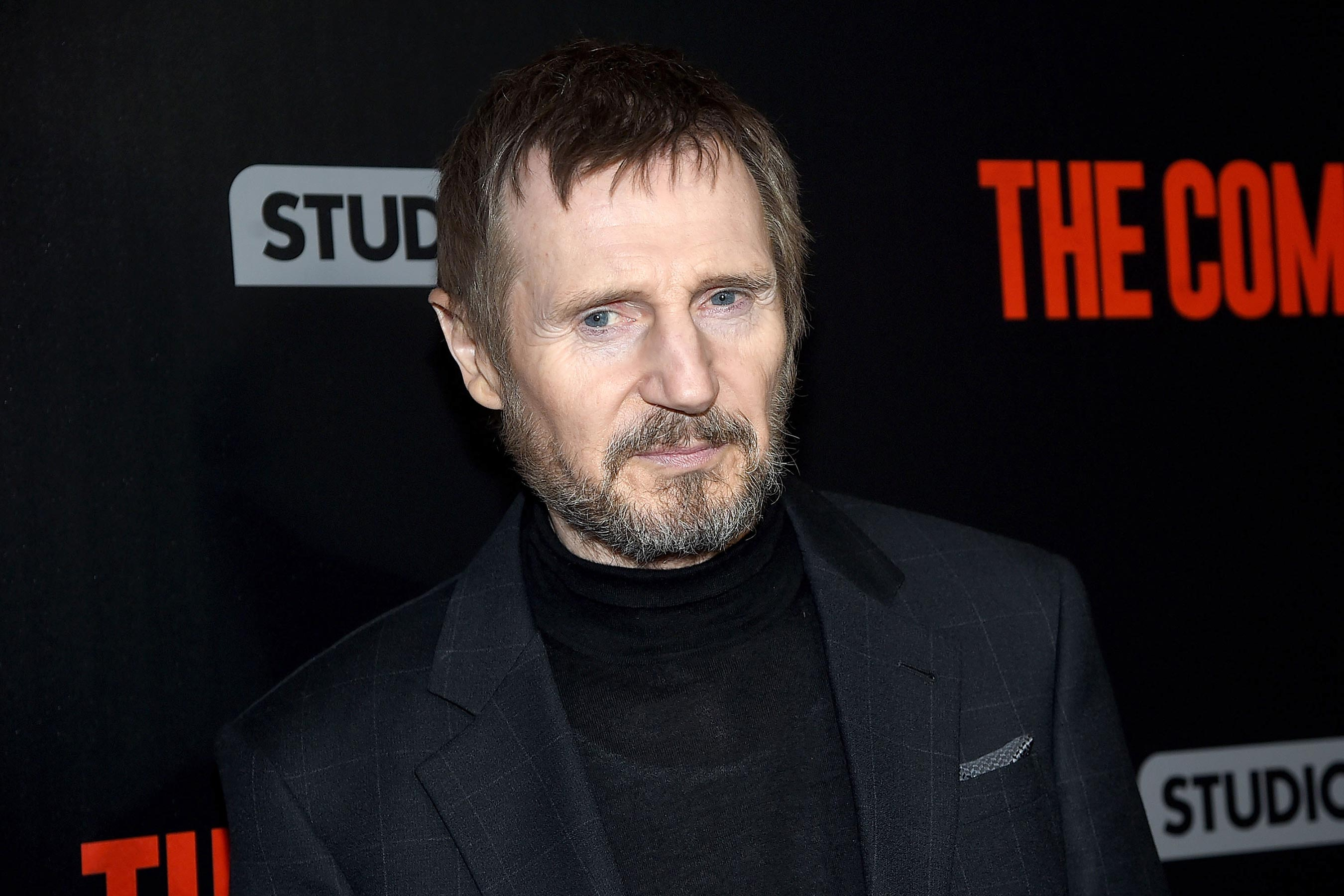 Liam Neeson says the gender pay gap is 'f—ing disgraceful'