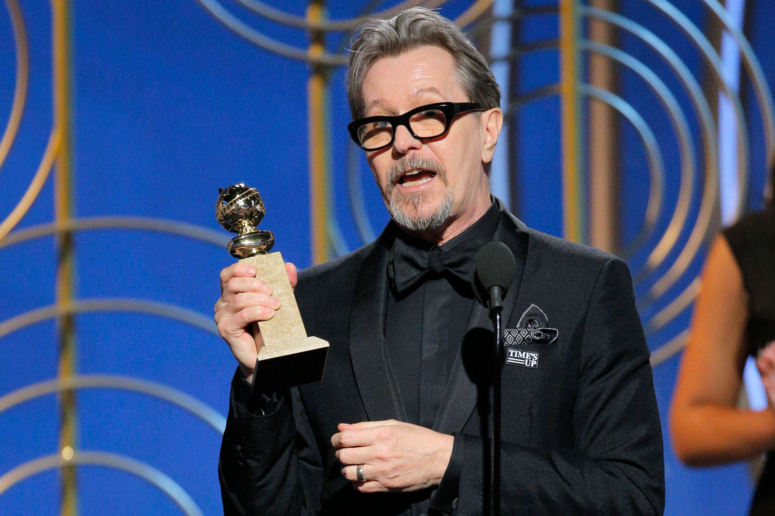 Gary Oldman Golden Globes win
