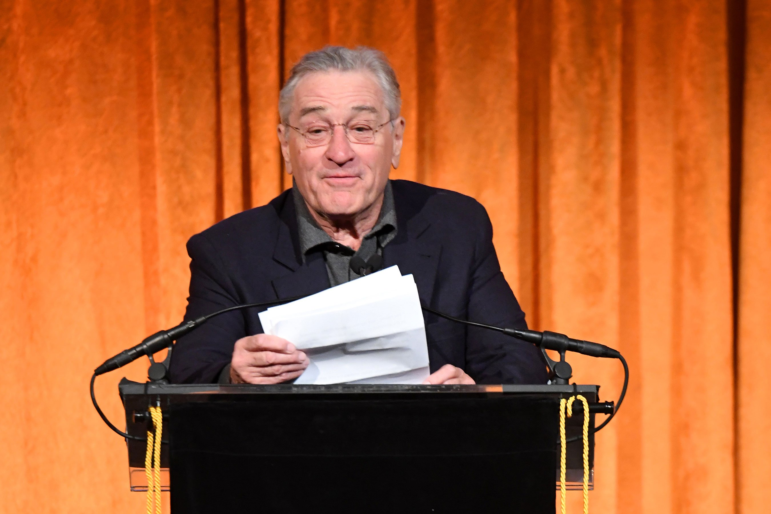 Robert De Niro goes on profanity-laced tirade against Trump at awards gala