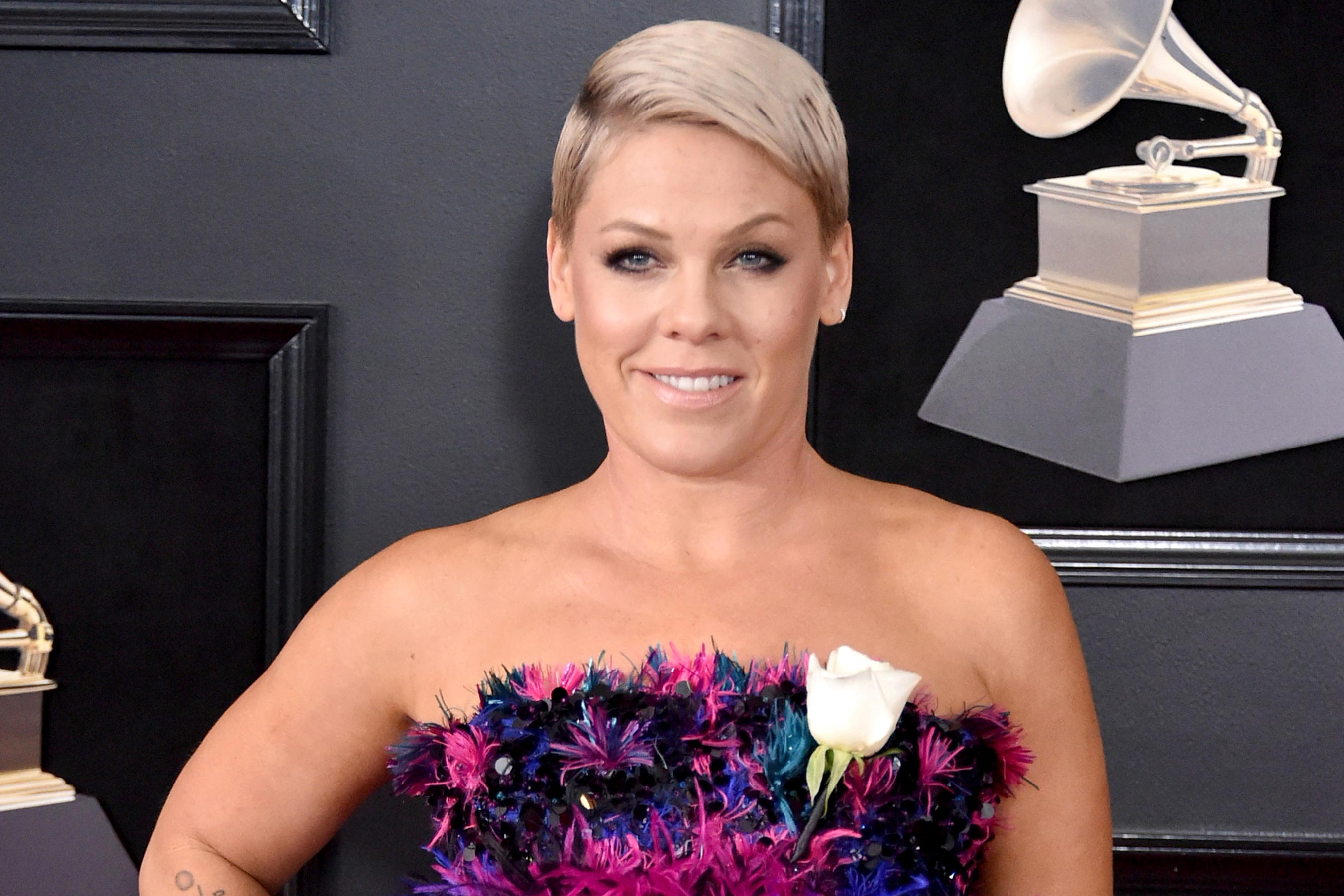 Pink fires back at Grammys president for saying women need to 'step up'