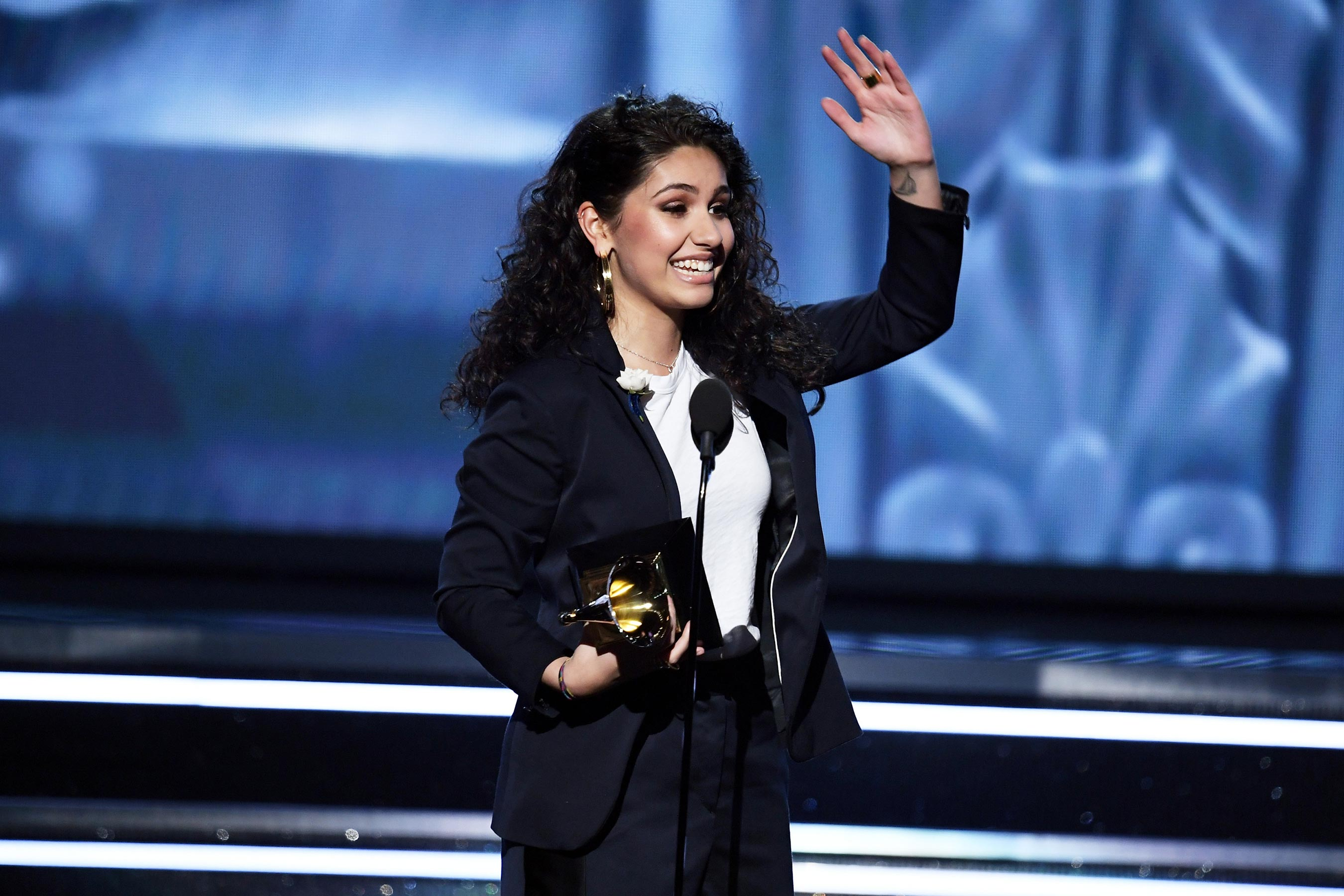 Alessia Cara defends Grammy win in empowering note
