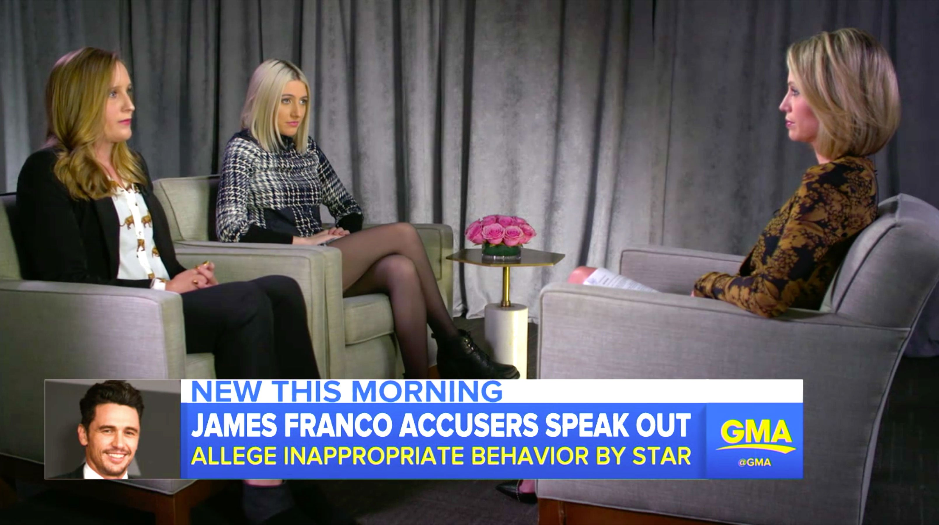 James Franco accusers call for actor to 'apologize'
