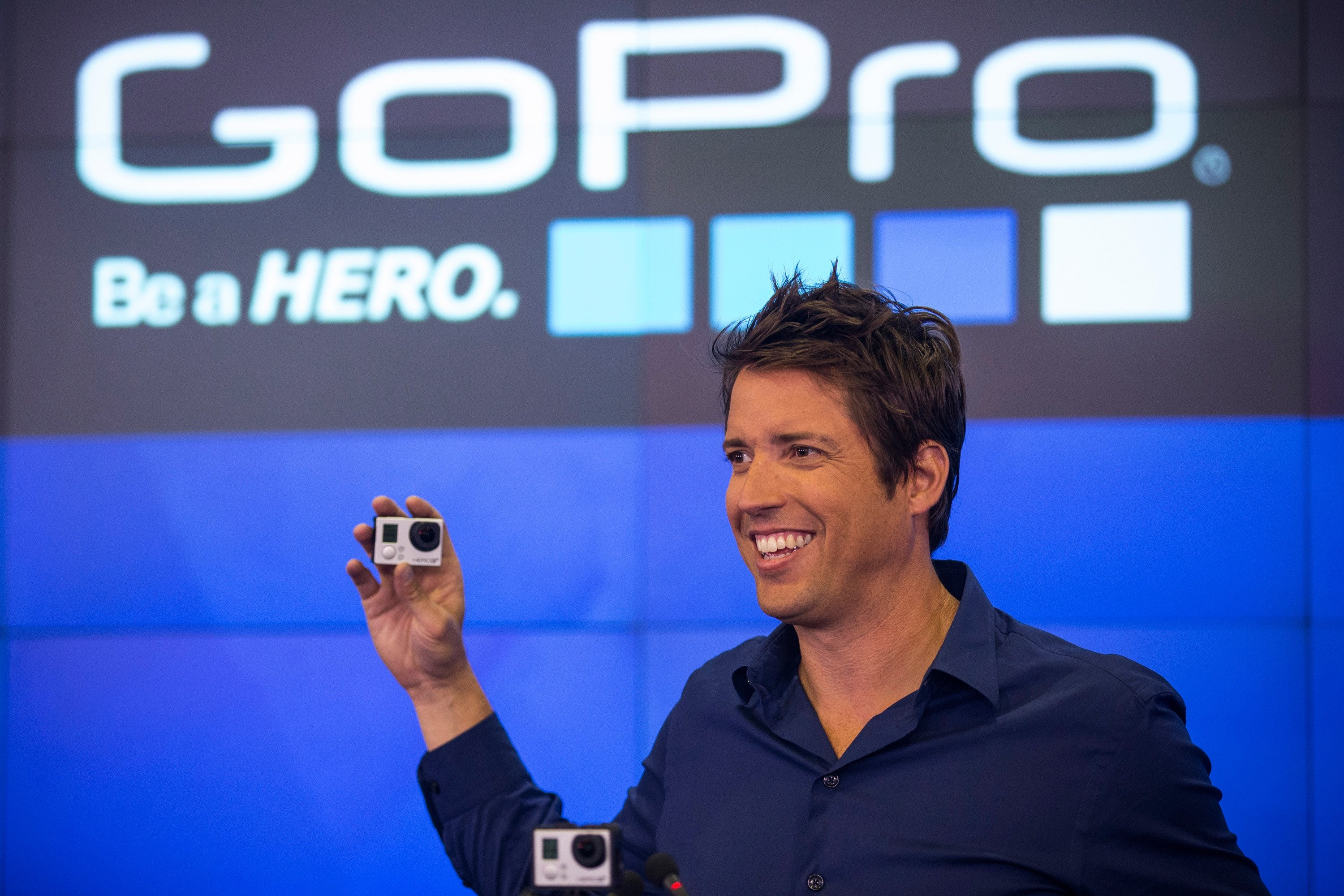 GoPro hires JPMorgan to explore a possible sale