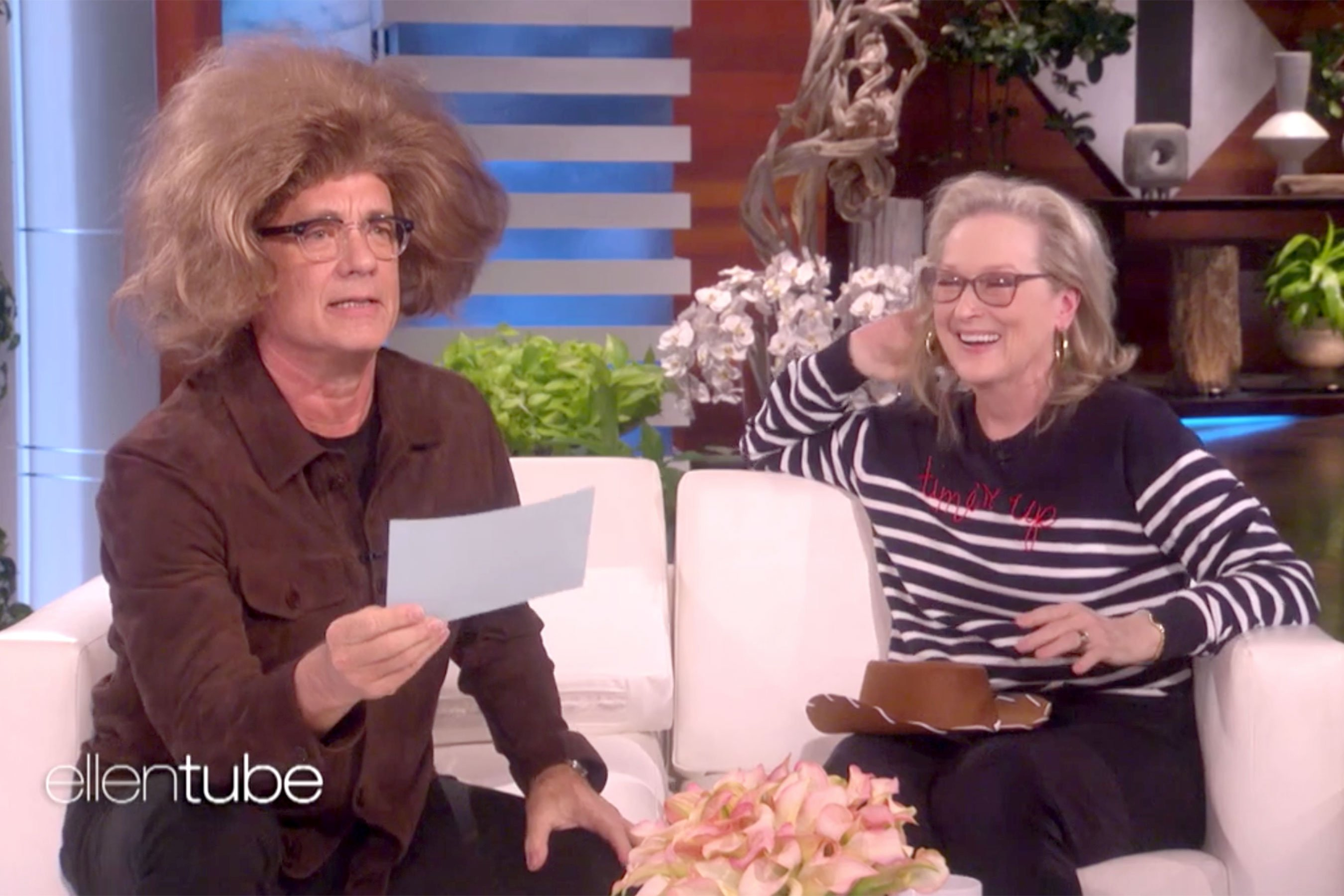 Meryl Streep, Tom Hanks act each other's iconic roles