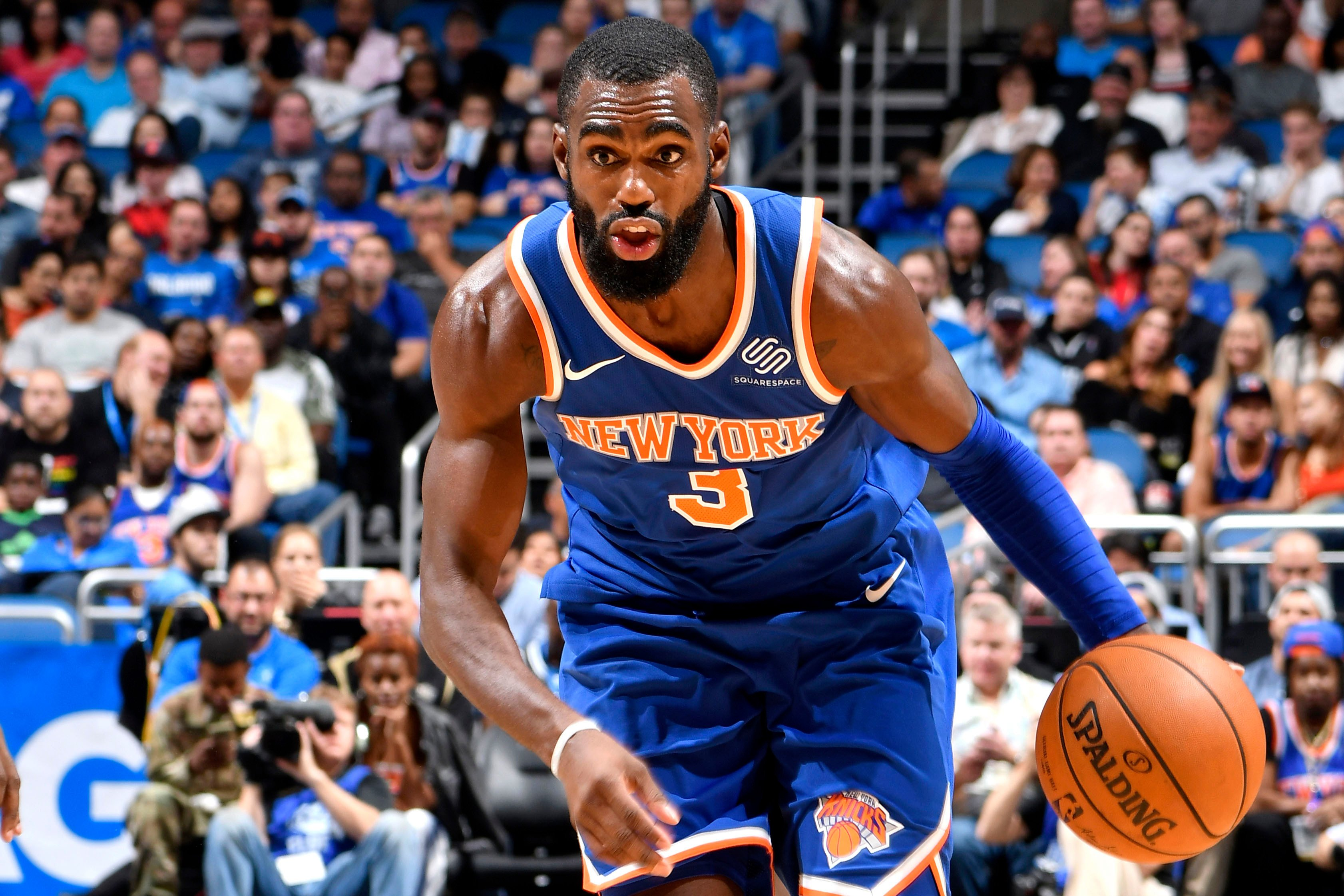 Tim Hardaway Jr. returns to Knicks but won't start yet