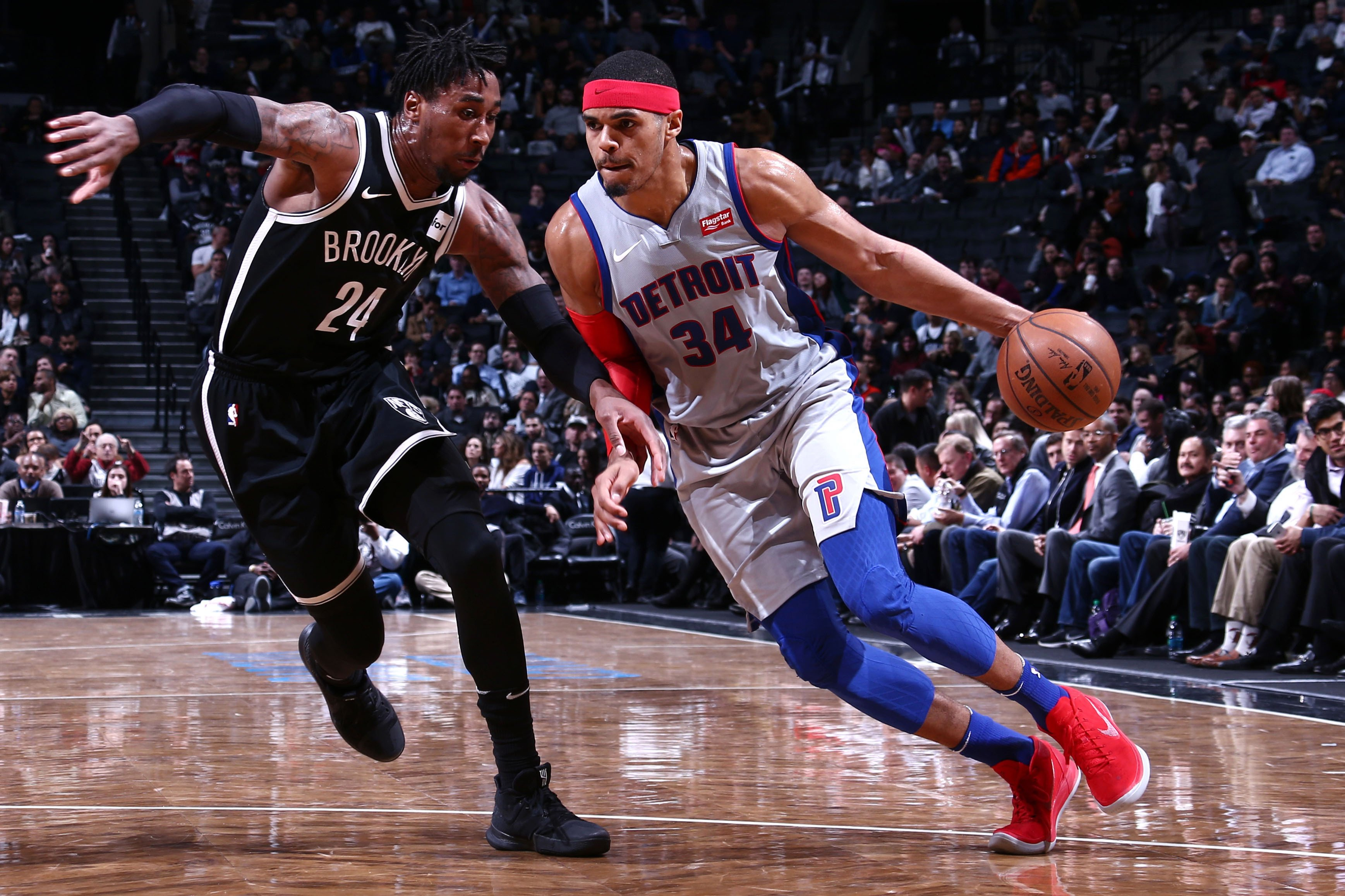 The Pistons abused Nets with one play, over and over again
