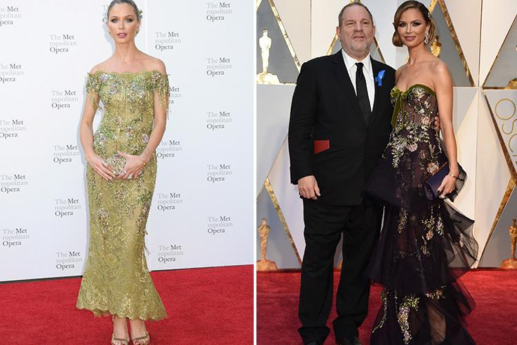Who is Georgina Chapman, has Harvey Weinstein's wife divorced him, when was their wedding and what's her net worth?