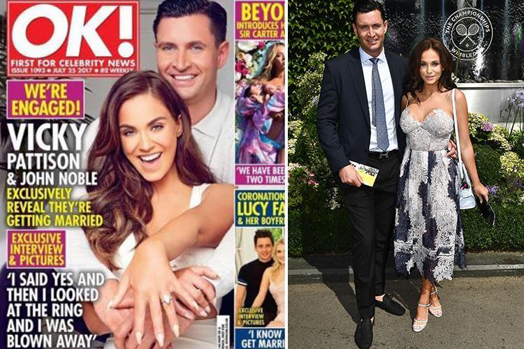 Who is John Noble? Vicky Pattison's fiance and Newcastle businessman