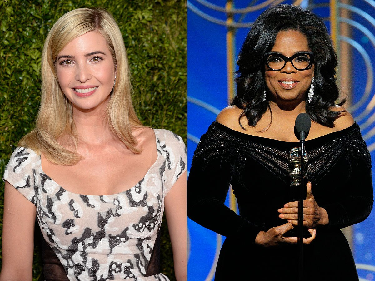 Ivanka Trump just praised Oprah's Golden Globes speech — and the internet isn't having it