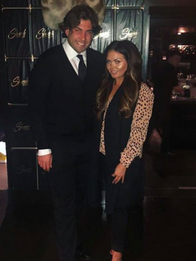 Cute pics! Scarlett Moffatt enjoys cosy dinner with TOWIE's James Argent