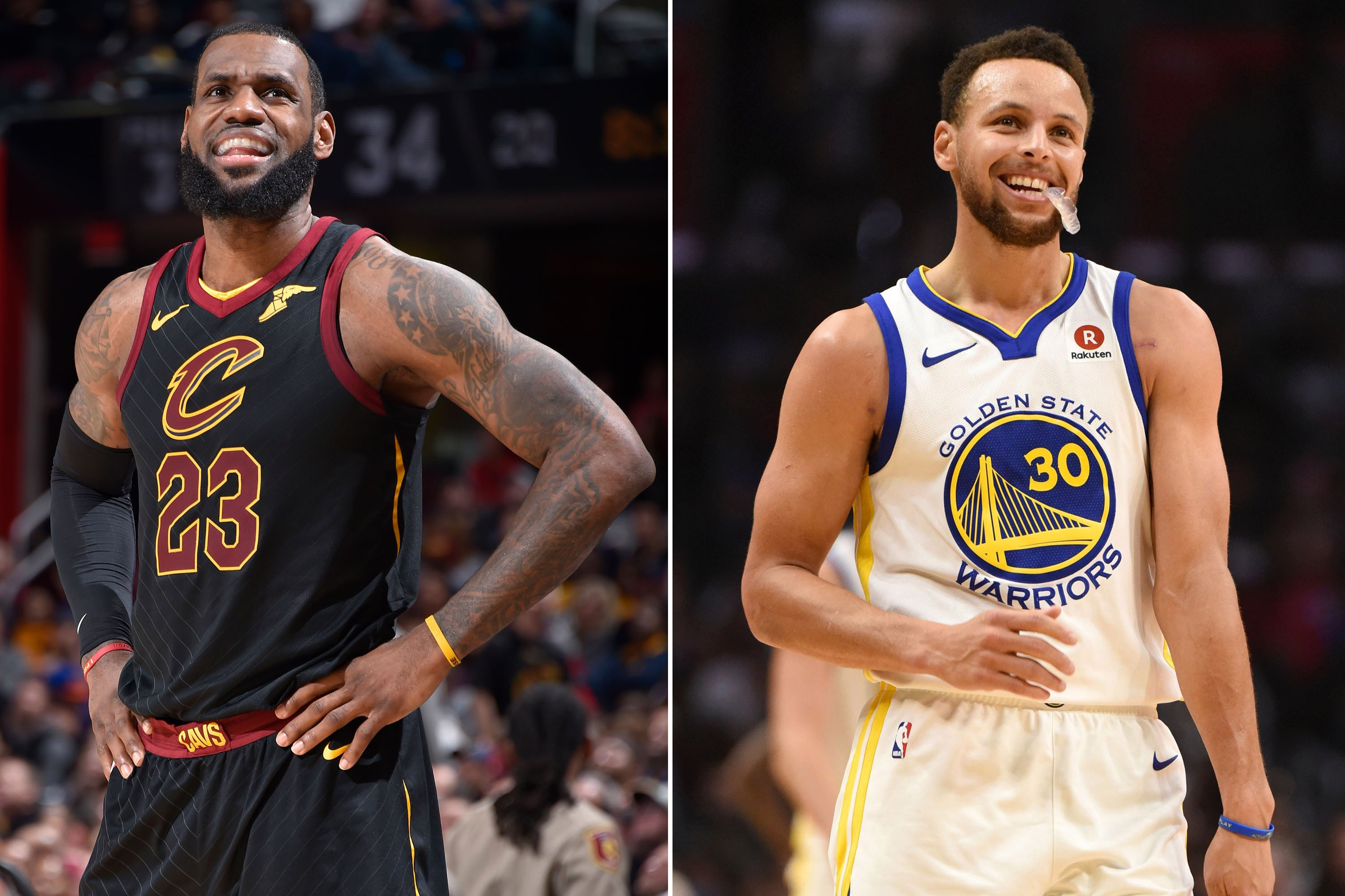 LeBron James, Steph Curry duke it out in first All-Star Game draft