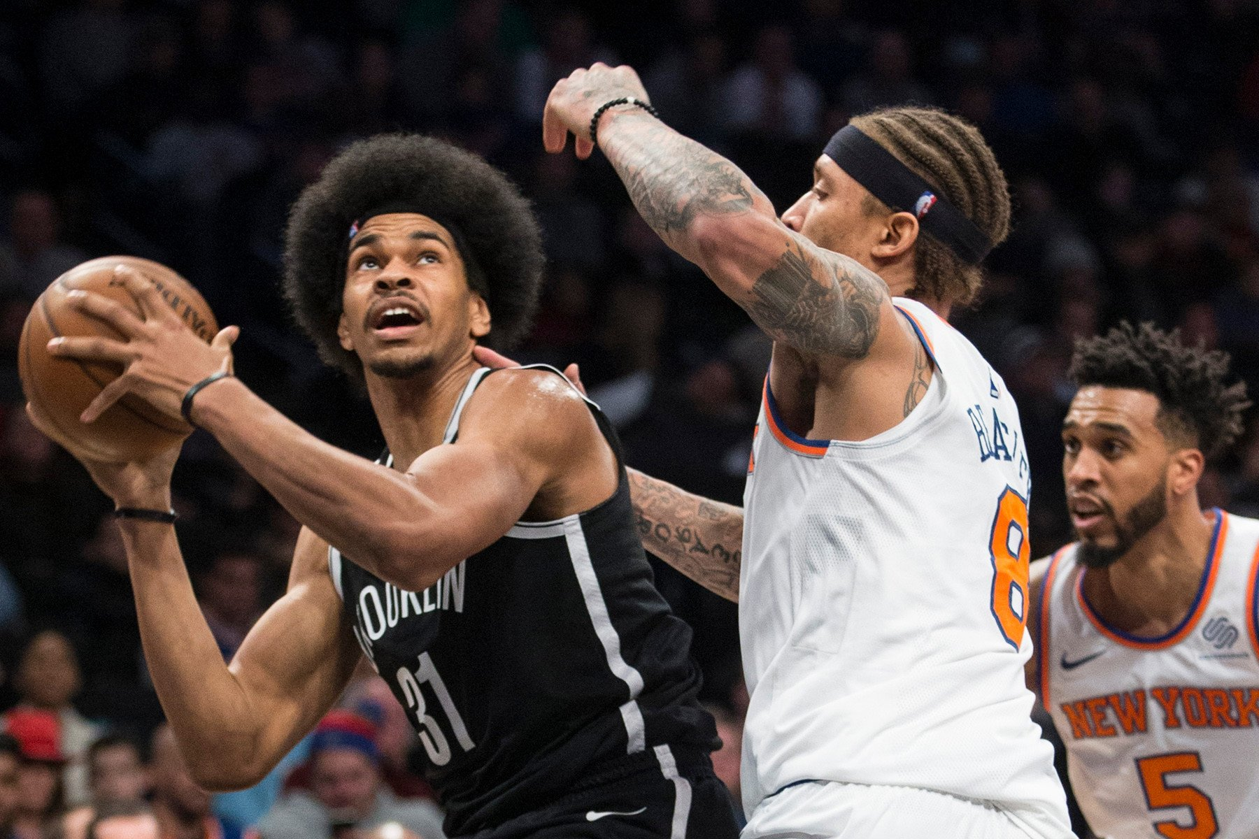 Nets' outside shooting let them down against bigger Knicks