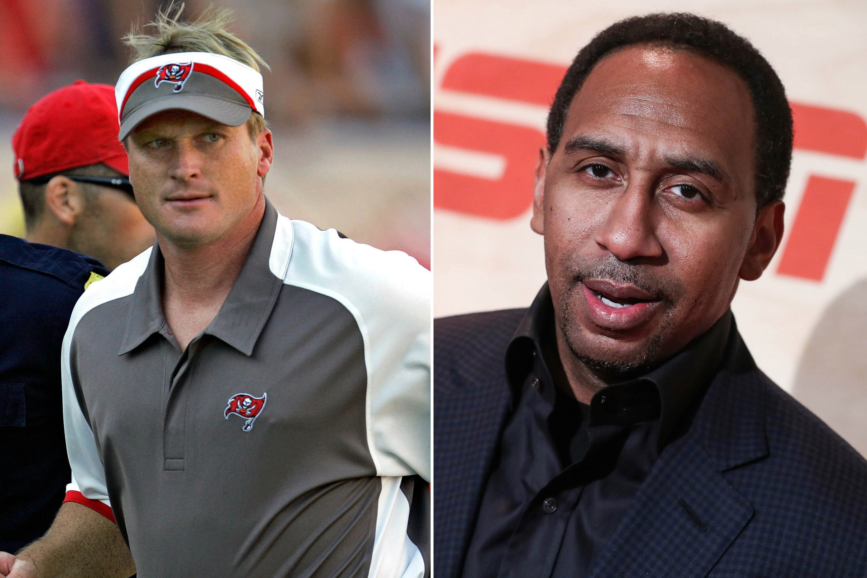 Jon Gruden mocks Stephen A. and ESPN report on his way out