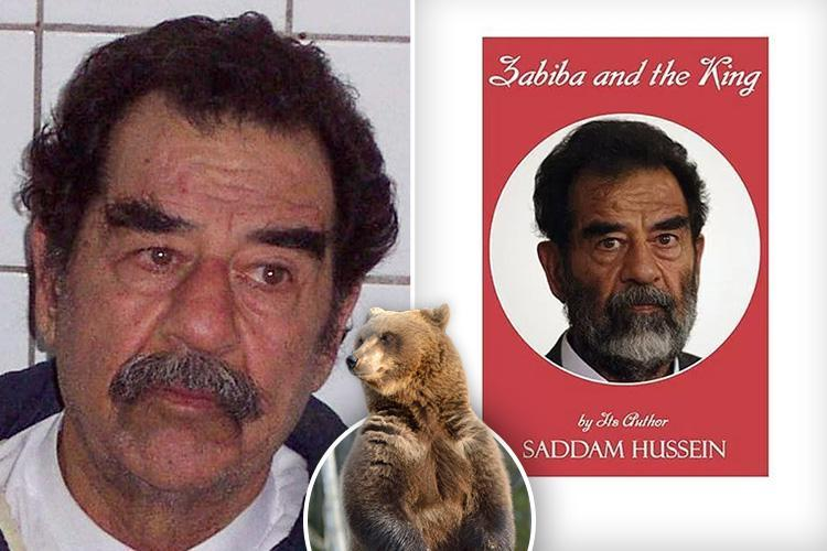 Iraqi dictator Saddam Hussein wrote bizarre 'romantic novel' featuring sex scene between a shepherd and a bear