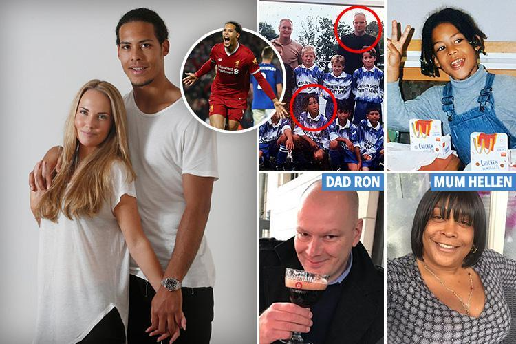 Liverpool's £75m sensation Virgil van Dijk's family at war over bitter 14-year feud