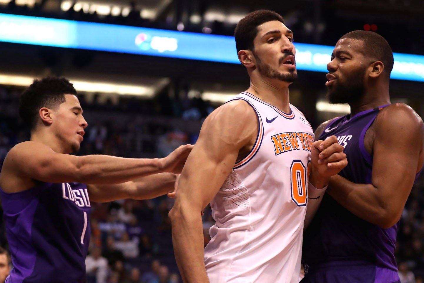 """""""Need that little dirtiness': Kanter gets tough as Booker tossed"""