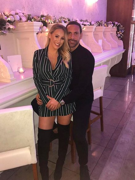 'Brightness has been spread around me' Rio Ferdinand shares ADORABLE tribute to Kate Wright after a 'tough year' – CelebsNow