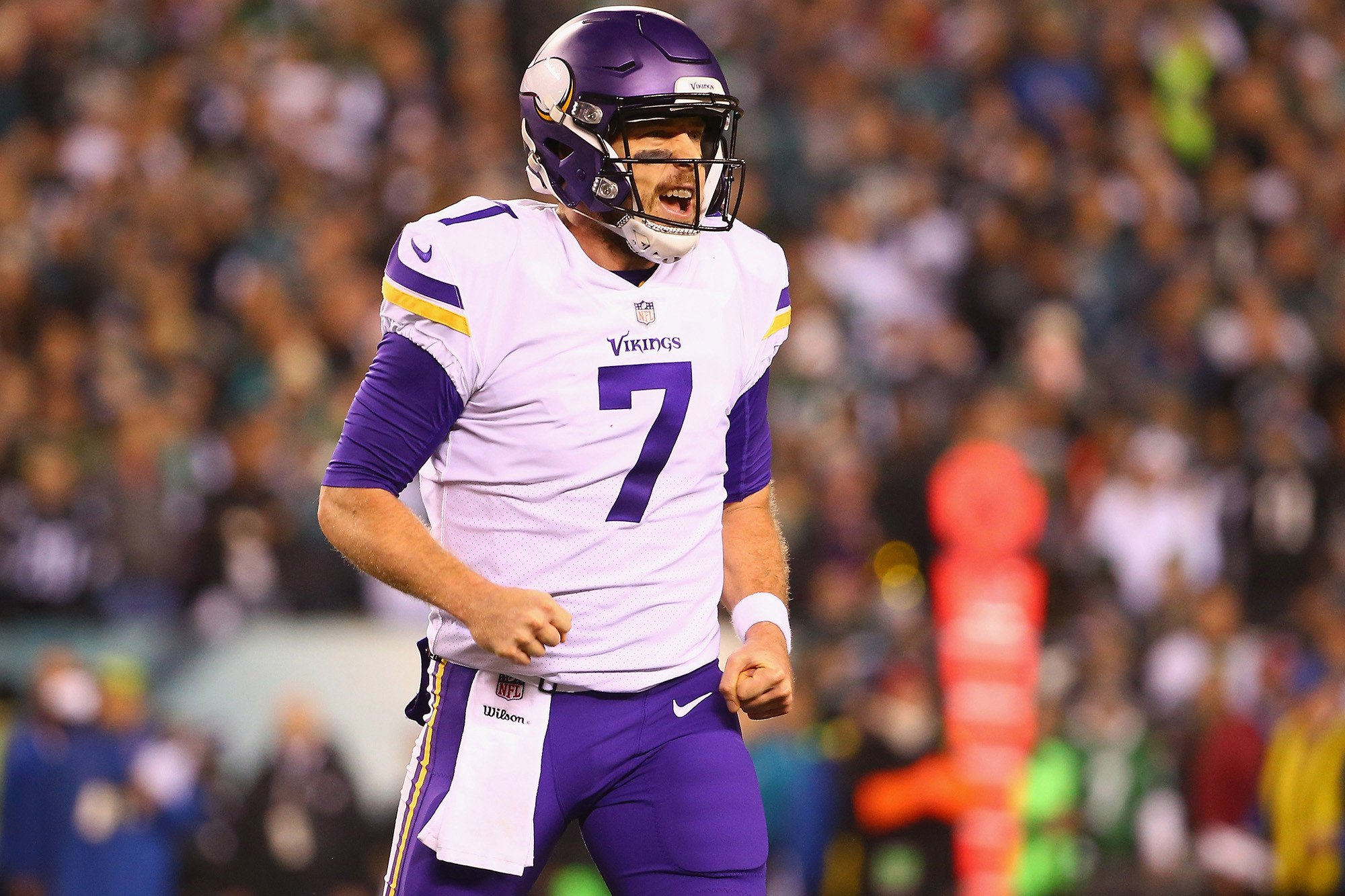 Case Keenum: My family needed protection from Eagles fans