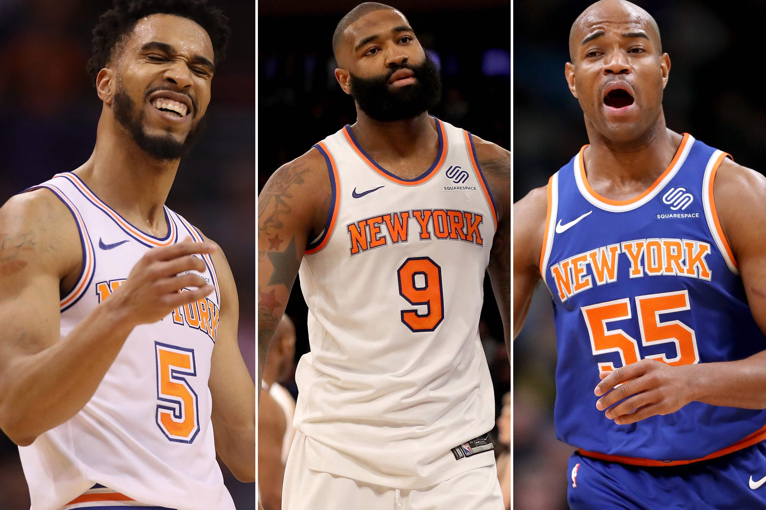 Rest of NBA thinks it's time for Knicks to start selling