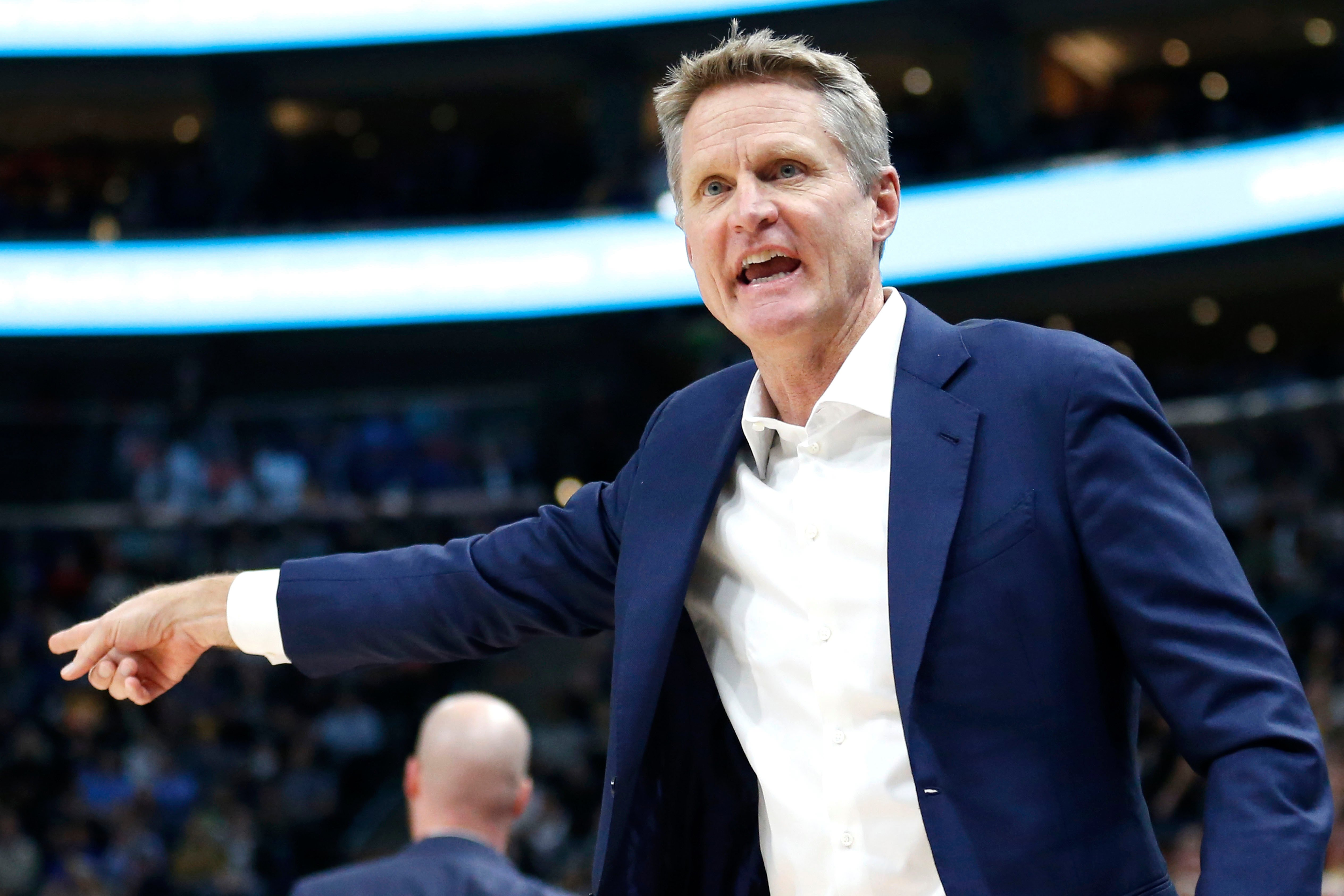"""Steve Kerr rips Warriors for playing """"disgusting basketball'"""