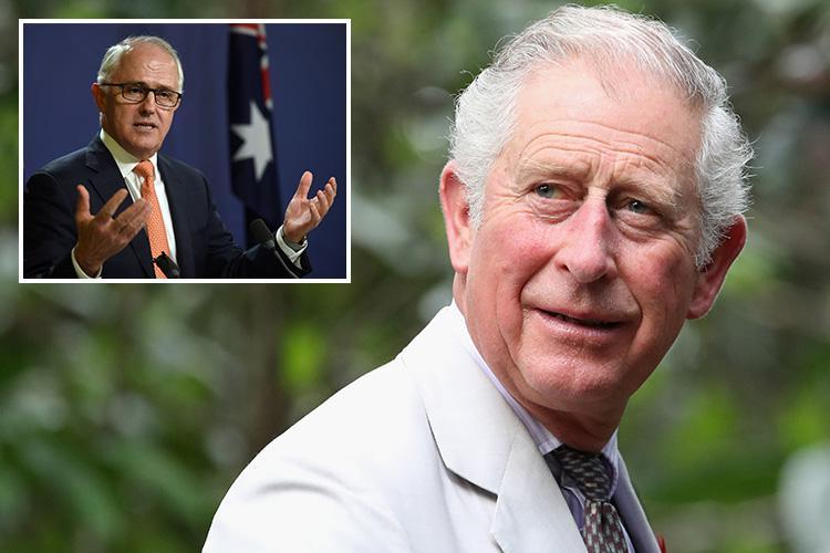 Australia will scrap the Royal Family rather than have Prince Charles as king, Aussie PM Malcolm Turnbull hints