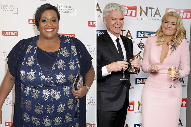 Alison Hammond says Holly Willoughby and Phillip Schofield are 'too wild' and such 'hardcore party animals' she sneaks home to avoid partying with them